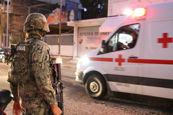 Diversos ataques contra las fuerzas de seguridad, en distintos estados, se han presentado en los últimos días.  FOTO: BERNANDINO HERNÁNDEZ /CUARTOSCURO.COM