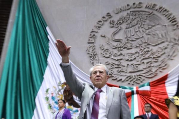 Jorge Alcocer Varela, secretario de Salud. Foto: Twiter @SSauld_mx