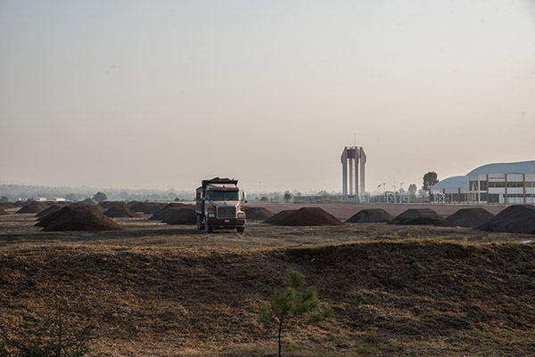 El gobierno ya programó para mañana un evento para iniciar la construcción del aeropuerto. Foto: Cuartoscuro