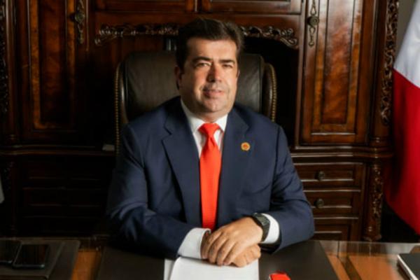 El Secretario General de la CATEM, Pedro Haces Barba. Foto: Especial.