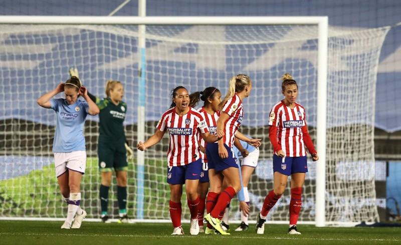 JUBILOSA. La goleadora colchonera marcó el tanto de la igualada en la recta final del encuentro. Foto: ap