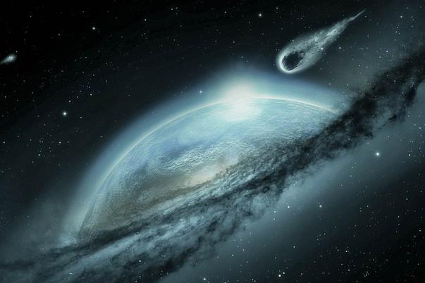 Los meteoritos son también conocidos como estrellas fugaces, pero no son estrellas, se trata de restos de cometas. Foto: Pixabay
