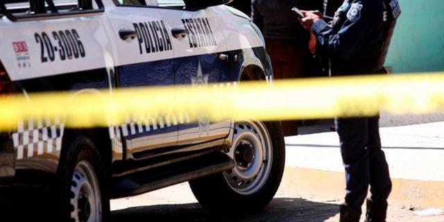 Pese a la agresión, los policías estatales no resultaron heridos. Foto: Especial