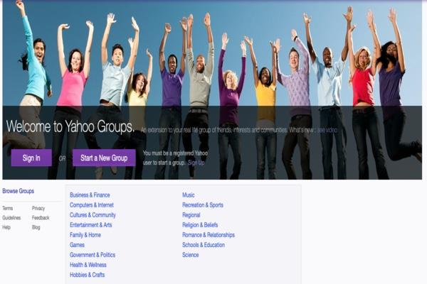 Yahoo Grupos
