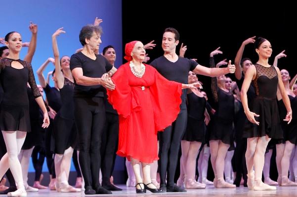 La bailarina y coreógrafa cubana Alicia Alonso. Foto: EFE