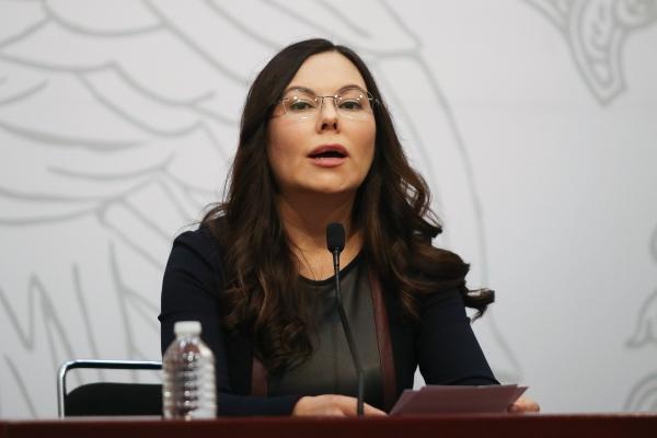 Laura Angélica Rojas, presidenta de la Mesa directiva de la Cámara de Diputados. Foto: Cuartoscuro