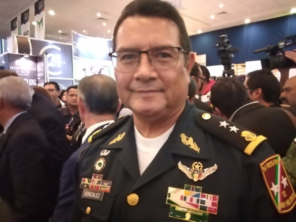 Guzmar Ángel González Castillo, comandante de la Doceava Zona Militar en San Luis Potosí. Foto: Especial