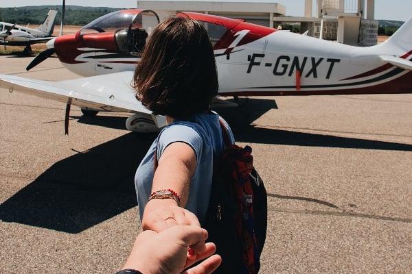 amor en el aeropuerto
