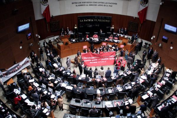 Senado desecha peticiones de desaparecer poderes en 3 estados