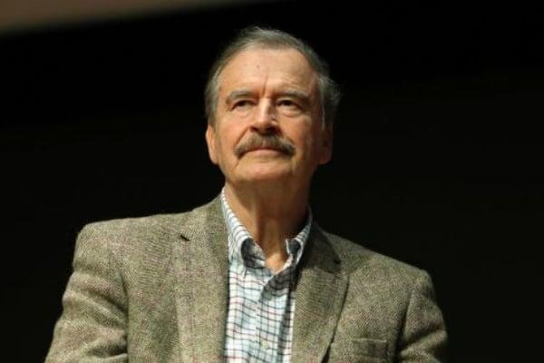 Vicente Fox, expresidente de México. Foto: Especial.