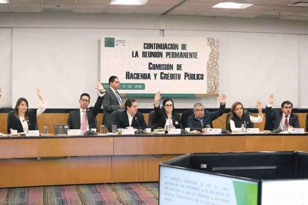 RECURSOS. La Comisión de Hacienda de San Lázaro discute la Ley de Ingresos para 2020. Foto: Víctor Gahbler.