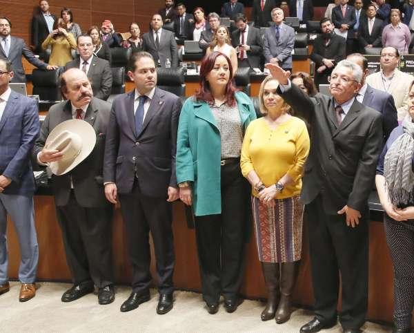 RETOMA. En una primera votación, el ahora presidente de la CRE quedó en segundo lugar. Foto: CUARTOSCURO