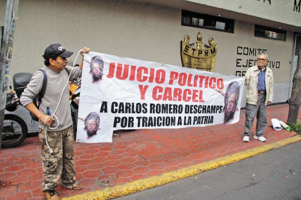 EN VILO. El exsenador afirma que el 14 de octubre se ordenó congelar parte de sus bienes.  Foto: CUARTOSCURO