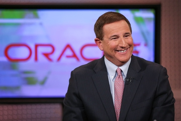 Mark Hurd, CEO Oracle.