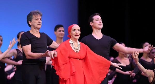 CARRERA. La prima ballerina debutó en Broadway, en 1938. Foto: REUTERS