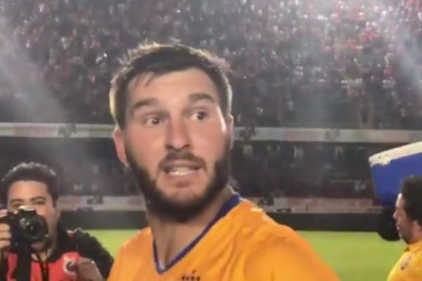 André-Pierre Gignac insulta a los jugadores de Veracruz. Foto: Especial