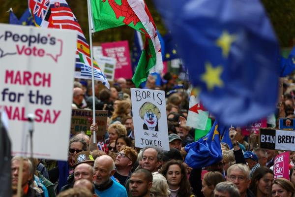 Johnson anunció que su gobierno introducirá la legislación necesaria. Foto: AFP