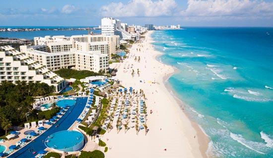 PARAÍSO. Cancún es uno de los destinos de playa más importantes y conocidos en todo el orbe. Foto: Especial