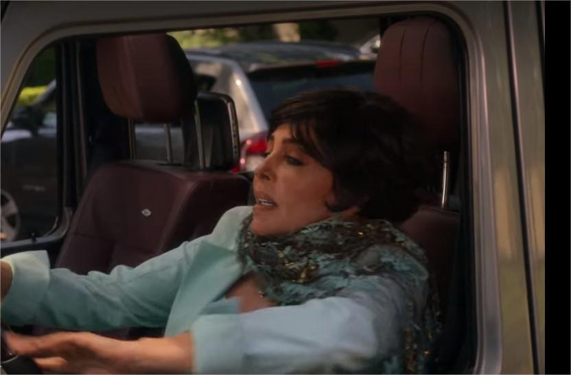 Virginia de la Mora en la segunda temporada de La Casa de las flores. Netflix