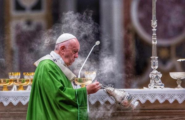Papa Francisco en el Vaticano. Foto: Pablo Esparza