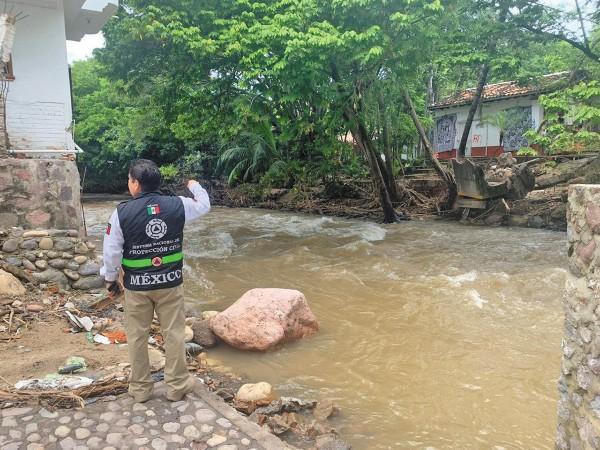 LUPA. La autoridad mantiene monitoreo permanente; ayer cayeron varios árboles en Colima. Foto: Especial