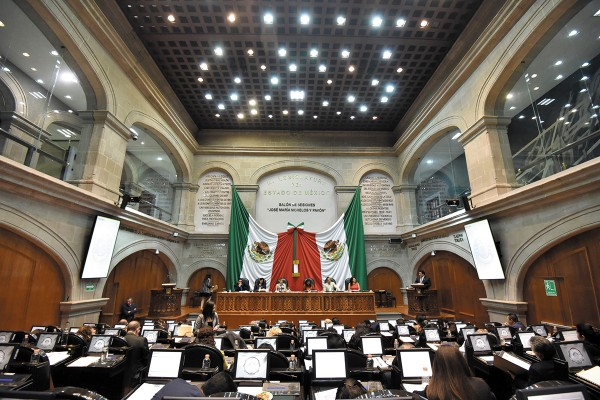 INCUMPLIMIENTO. En la página de transparencia del Legislativo tampoco hay registros. Foto: Cuartoscuro