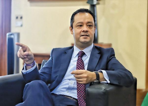 PASO A PASO.  El subsecretario de Hacienda, Gabriel Yorio, no ve una expansión de la estructura de gobierno. Foto: Víctor Gahbler