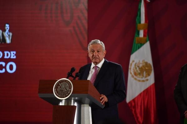 La Mañanera del presidente Andrés Manuel López Obrador. Foto: Pablo Salazar Solís