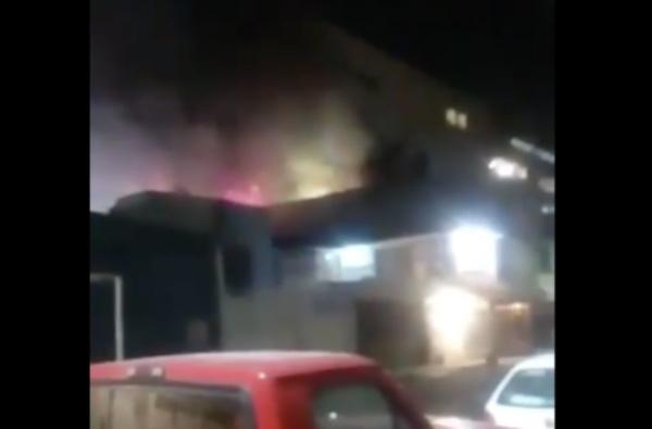 Todo comenzó con un incendio en una vivienda. FOTO: Especial