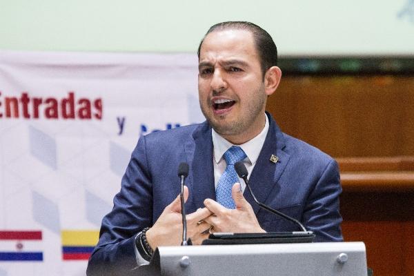 Marko Cortés explicó que la liberación del integrante del Cártel de Sinaloa vulneró el Estado de derecho  FOTO: VICTORIA VALTIERRA /CUARTOSCURO.COM