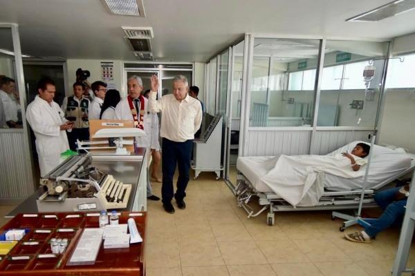 El gobierno del presidente Andrés Manuel López Obrador abrirá plaza de médicos. Foto: Presidencia