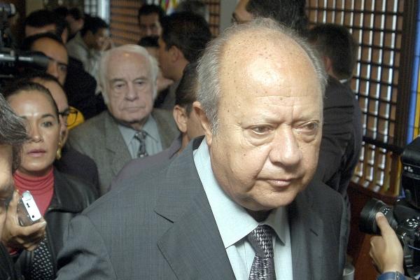 Carlos Romero Deschamps, exlíder del sindicato petrolero. Foto: Notimex