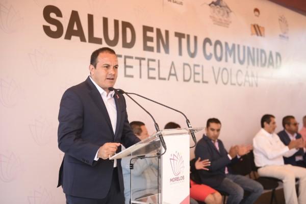 Cuauhtémoc Blanco Bravo, gobernador de Morelos. Foto: Especial
