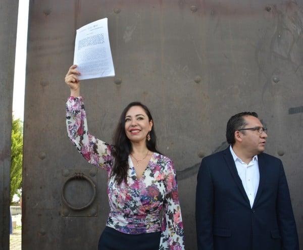 Patricia Durán Reveles, alcaldesa de Naucalpan. FOTO: ESPECIAL