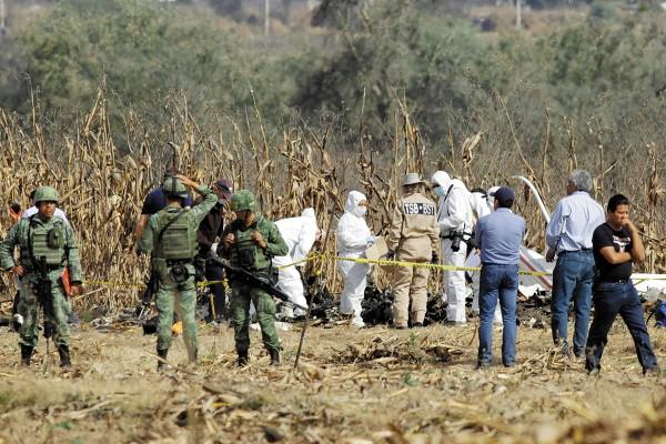 DATO. El 25 de octubre habrá un nuevo informe sobre la caída de la aeronave. Foto: Cuartoscuro