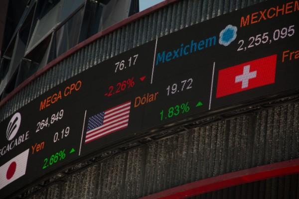 La Bolsa Mexicana de Valores (BMV), está ubicada en Avenida Paseo de la Reforma. Foto: Cuartoscuro