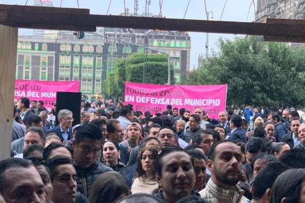 Los ediles piden ser escuchados por el Presidente Andrés Manuel López Obrador para que conozca las necesidades que hay en los municipios. Foto: Especial