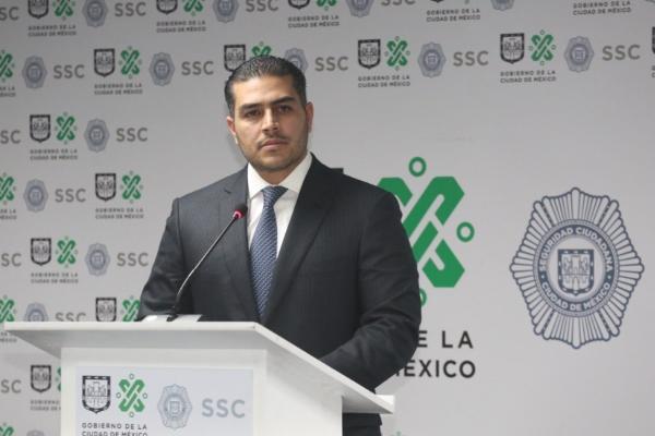 Secretario de Seguridad Ciudadana, Omar García Harfuch. Foto: @SSP_CDMX