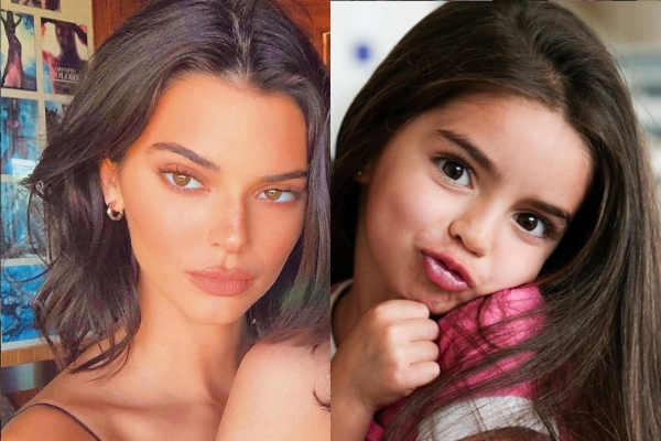 Kendall Jenner y Aitana. Foto: Instagram.