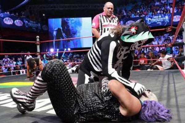 El luchador sufrió un accidente el domingo. Foto: Especial.