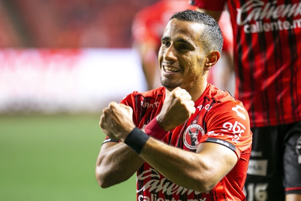 Camilo Sanvezzo logró par de anotaciones. Mexsport