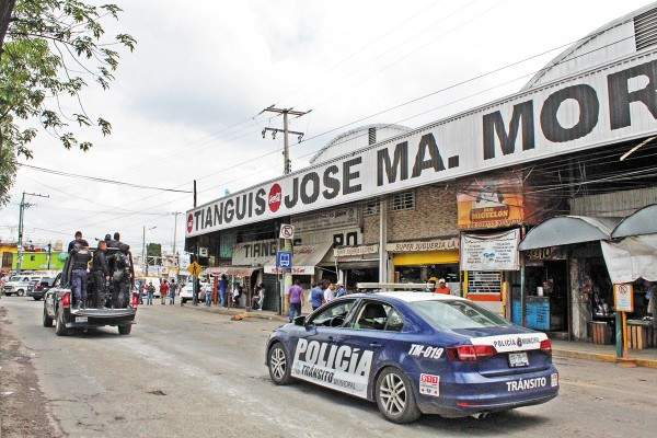 ACTO. En el mercado Morelos se han realizado diversos operativos en los últimos meses. Foto: Enfoque