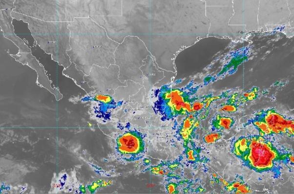 Pronóstico del Servicio Meteorológico Nacional. Foto: SMN