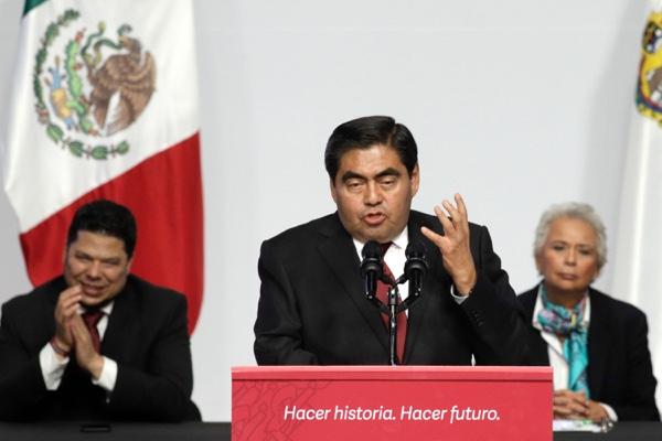 Miguel Barbosa, gobernador de Puebla. Cuartoscuro