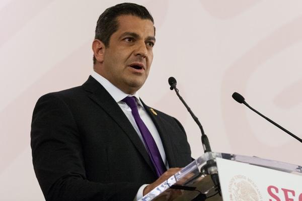 Ricardo Peralta, subsecretario de Gobernación. Cuartoscuro