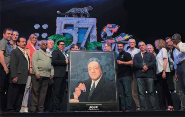 HONOR. La comunidad boxística rindió tributo a José Sulaimán, en la 57ª Convención del CMB.  Foto: Especial