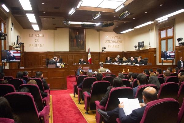 El ministro Franco González admitió a trámite los recursos. Foto: Cuartoscuro