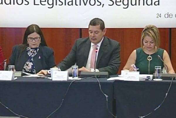 Comisiones en el Senado de la República. Foto: Especial