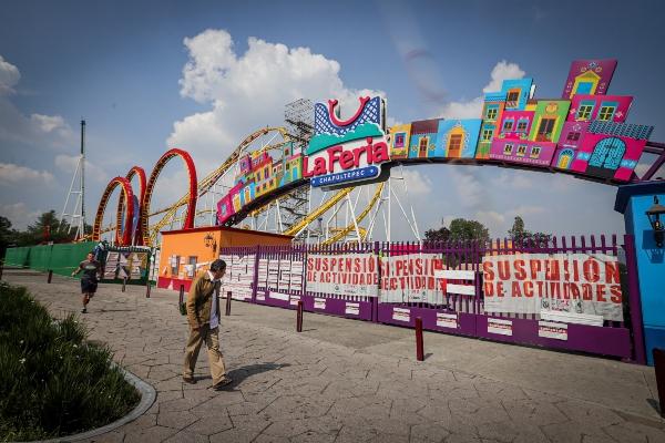 La Feria de Chapultepec se encuentra clausurada. Foto: Notimex