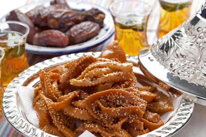 Los postres en Marruecos no siempre son dulces, también los hay salados. Foto: Especial